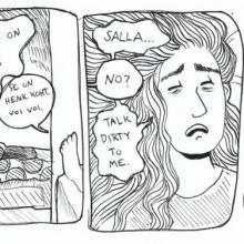 Juulia Niirasen sarjakuva